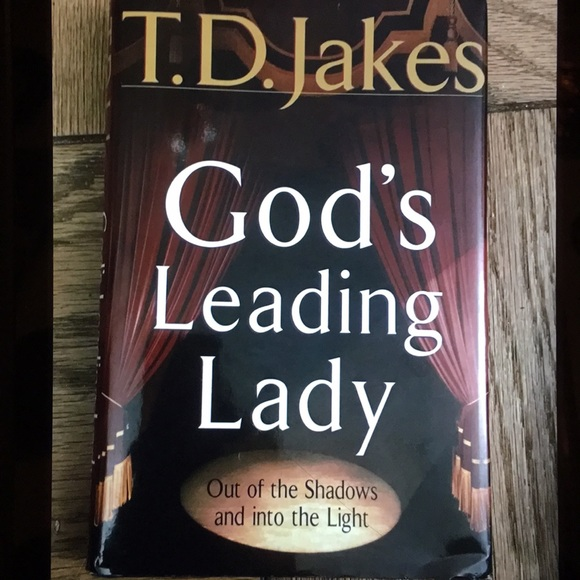 T.D. JAKES GOD'D LEADING LADY BOOK